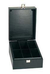 Holzbox in schwarz (klein)