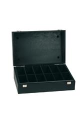 Holzbox in schwarz (groß)
